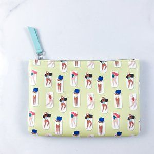 Ipsy Sunbathing Print Cosmetic Bag